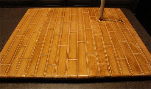 """Making the """"Wooden"""" Floor"""