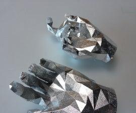 Silver Leaf a 3D Print