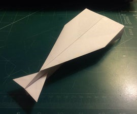 How To Make The HyperDagger Paper Airplane