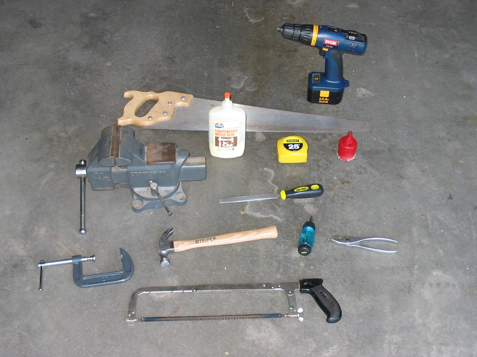 Picture of Tools Needed