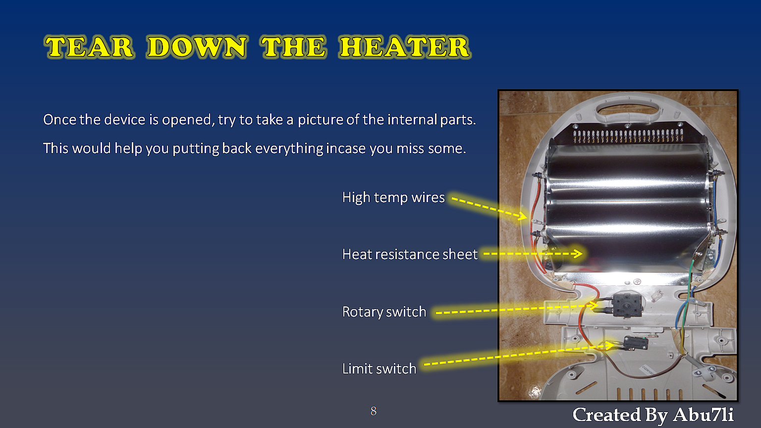Picture of How to Repair a Heater