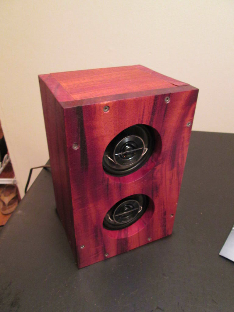 Picture of Mahogany Bluetooth Speaker