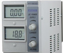 Using the HY1803D Power Supply