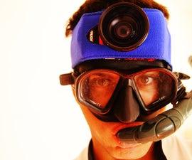 $1 DIY Digital Camera GoPro-like Waterproof Mount
