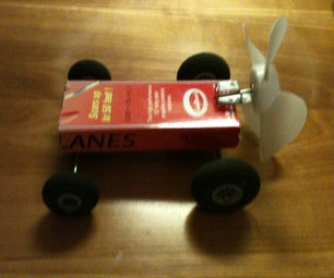 Wind Powered Toy Car