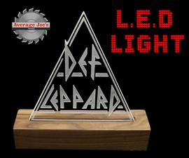 Def Leppard LED Light