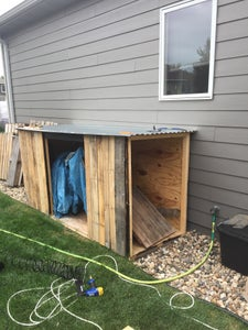Framing the Shed