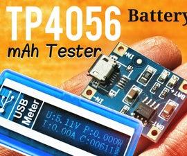 Battery Charger + Capacity (mAh) Tester