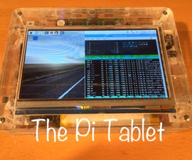 The Pi Tablet