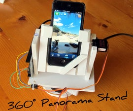 Automatic 360 Degrees Panorama Shooting Stand