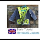 How to Sew a Reversible Jacket....our Pattern Is Called HENRIETTE. Have Fun Watching Our Tutorial!