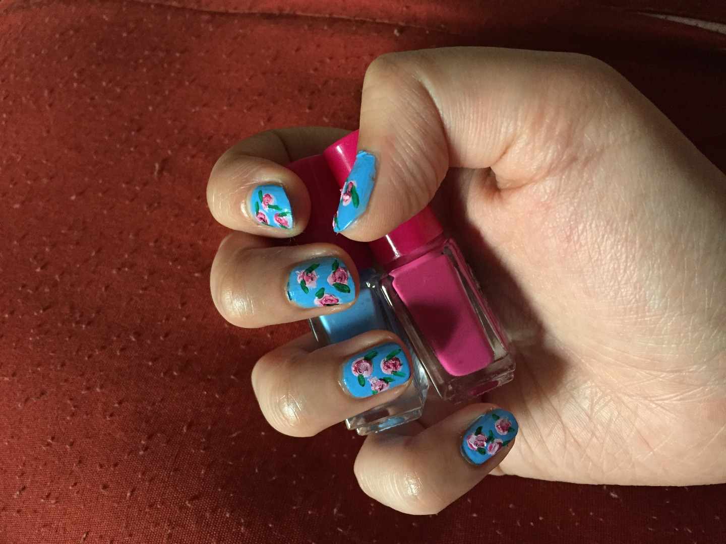 Picture of Flower Nail Art