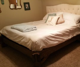 King-size Platform Bed