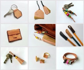 DIY Scrap Leather Projects
