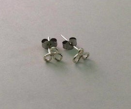 Easy Wire Earring Studs
