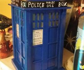 Balsa wood TARDIS