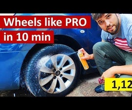 Cheapest Way to Clean Wheels Like a PRO (Under 1,5$)