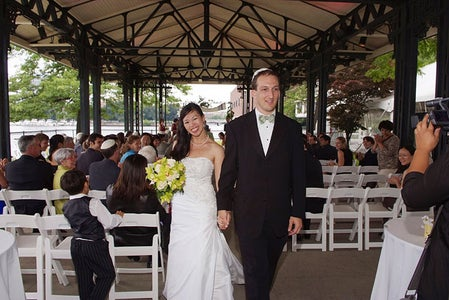 Apply Rings to Spouse, Exchange Vows, Get Married!