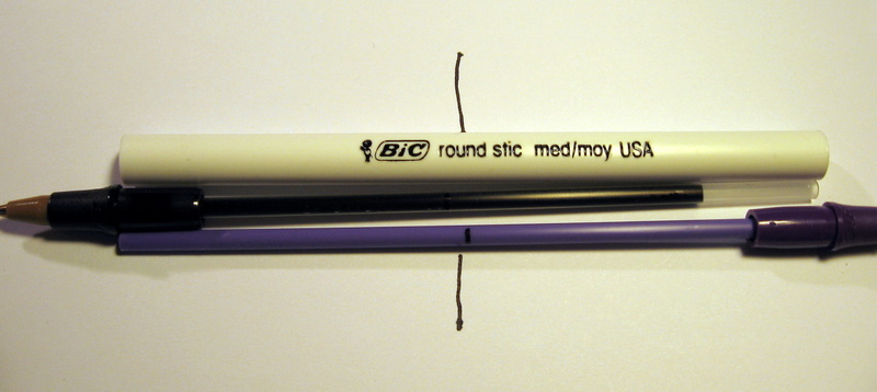 Picture of Mark the Ink Tubes.