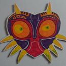 Drawing Majora's Mask