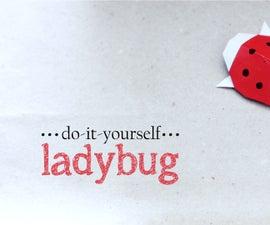 DIY : Origami Ladybug