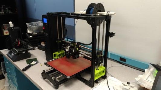 3D Printer Material Holder.