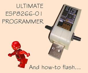 Ultimate ESP8266-01 Programmer & USB Adapter