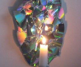 non-sconce, mood lighting with old cds