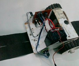 Line Follower Robot Without Arduino or Microcontroller