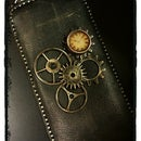 Steampunk style droid case.