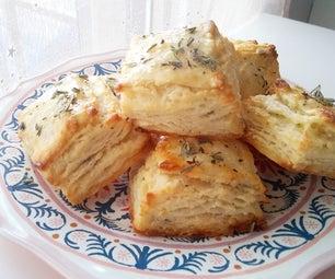 Savory Lavender Honey Biscuits
