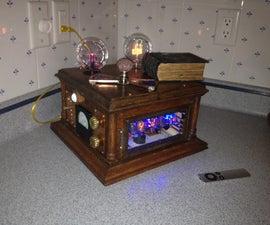 Steampunk Audio & Chronograph Station