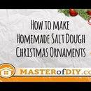 How to Make Homemade Salt Dough Christmas Ornaments
