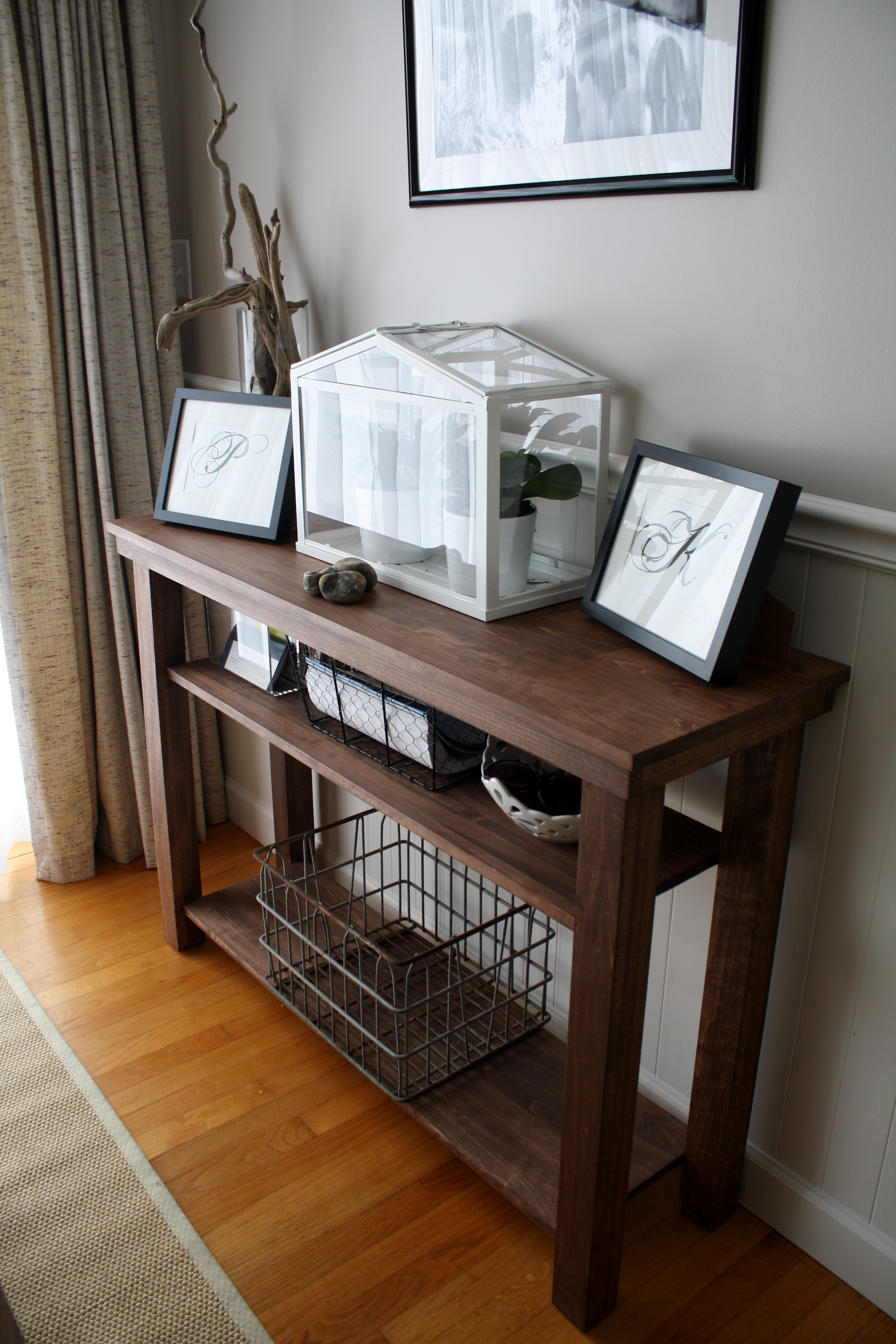Build a Dining Room Console Table (side or Serving Table): 5 ...