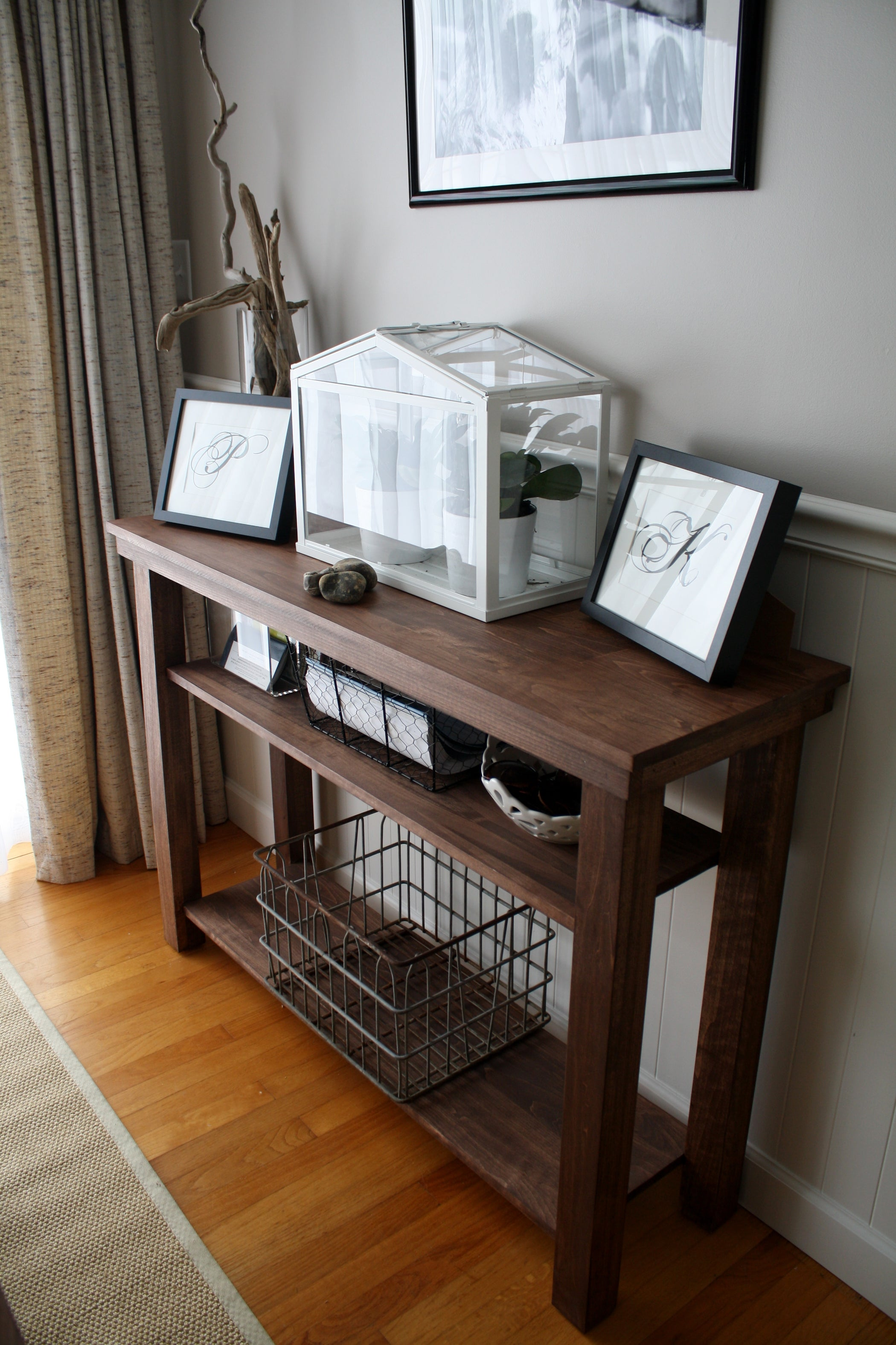 Build a Dining Room Console Table (side or Serving Table ...