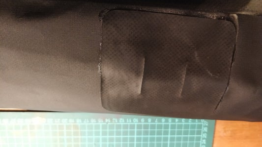 Allow to Dry, and Thread the Side Straps Through Again