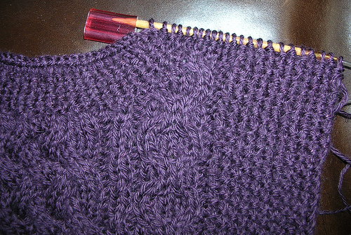 Picture of Aran Cable Pullover