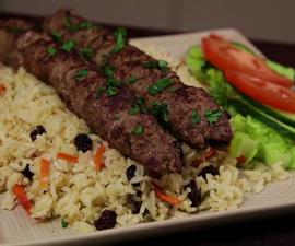 How to Cook Afghan Style Lamb Kofta Kebabs