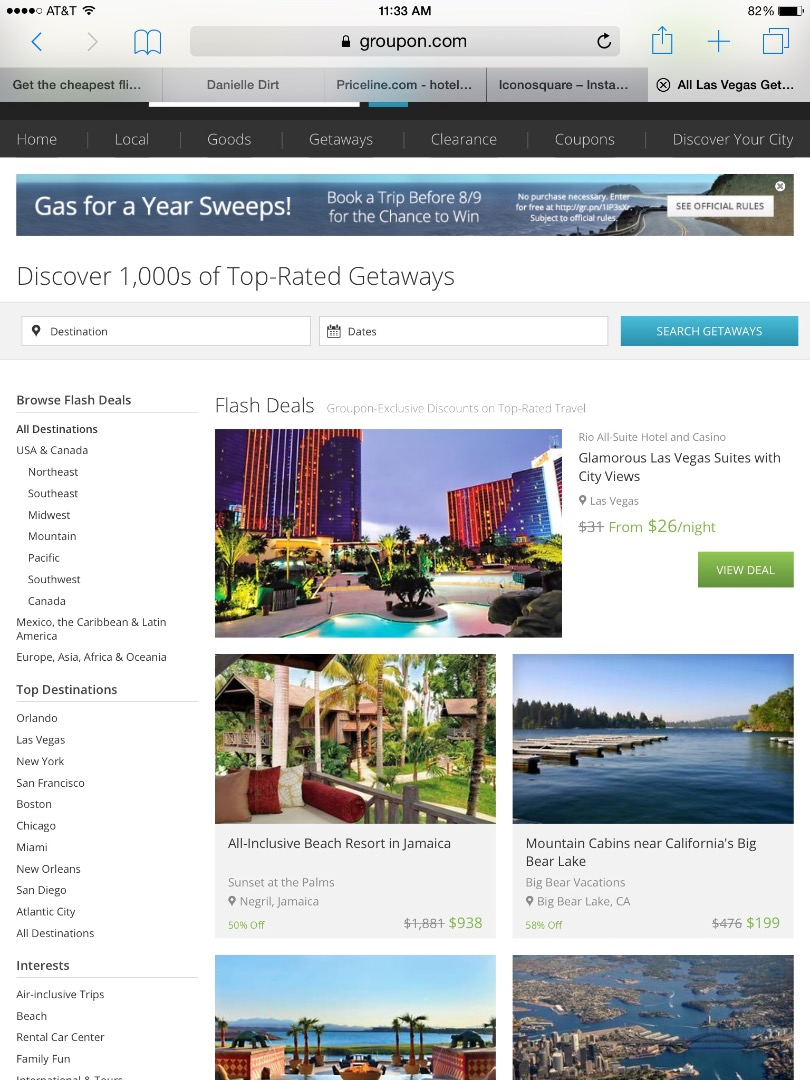 Picture of Groupon Getaways
