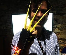 Wolverino: Muscle-controlled Fully Automatic DiY X-Men Wolverine Claws
