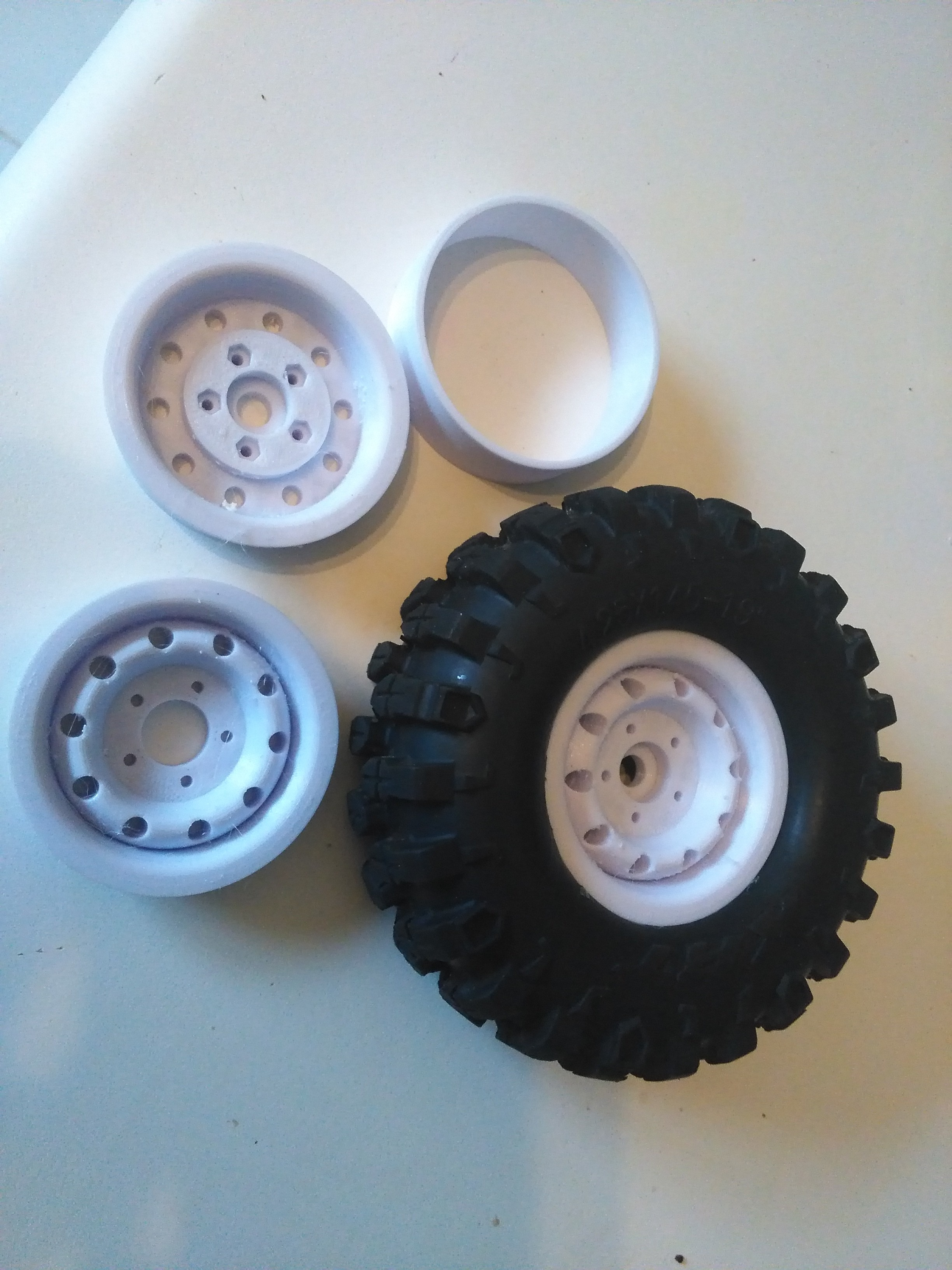Picture of Print and Assemble Wheels