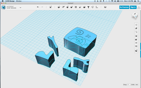 Importing to 123D Design