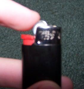 Remove Safty Lock on Bic a Lighter