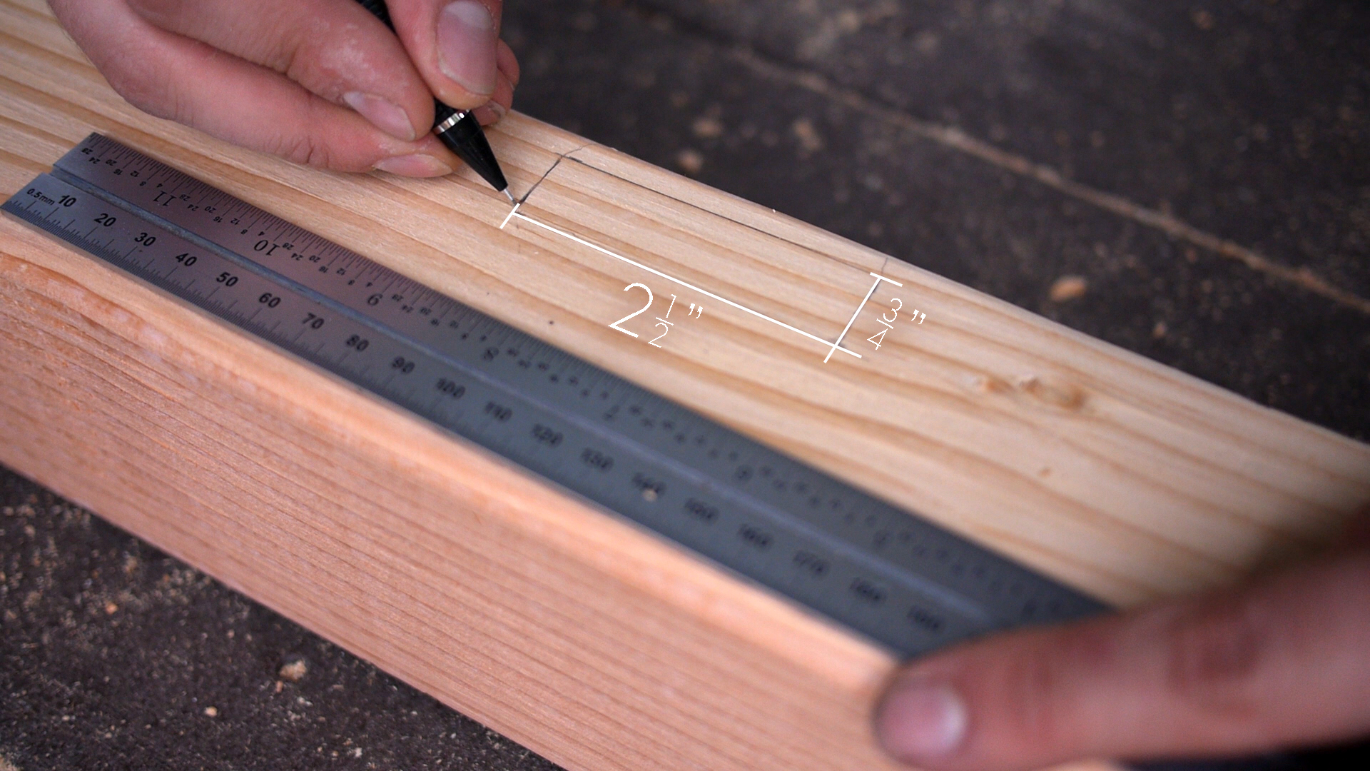 Picture of Mortise the 4x4's