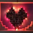 DIY Heart Collage
