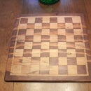 Antique Toys: Chess Board