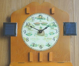How to Run a Battery Electric Clock on Solar Power--Part IIa