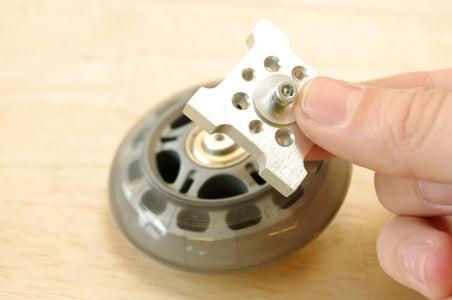 Assemble the Idler Wheels