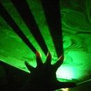 Liquid Sky Laser Plug and Play Prop, Halloween, Christmas, Decoration, Fog Lighting, Multiple Uses