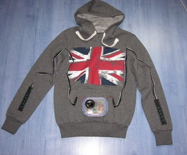 Arduino Personal Soundtrack Hoodie
